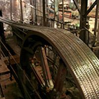 Einsatz Nu-T-Link in einer Stahlmühle