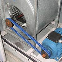 Super-T-Link im Einsatz bei einem Lüfterantrieb